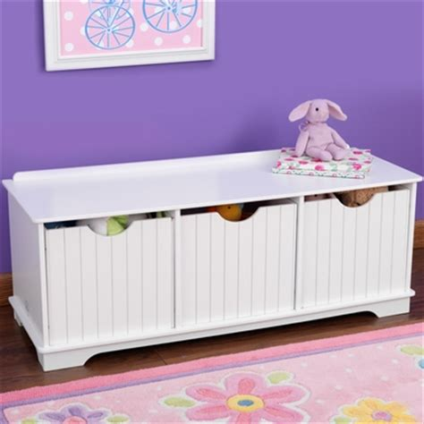 kidkraft nantucket storage bench pastel kidkraft nantucket storage bench in white free shipping