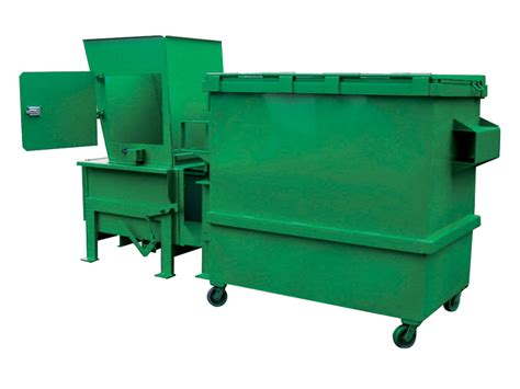 how does a commercial trash compactor work apartment compactors wastequip