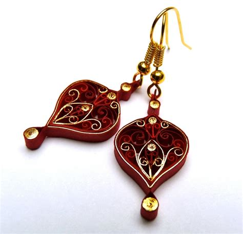 Jewellery With Quilling Paper - 412 best quilling jewelry images on