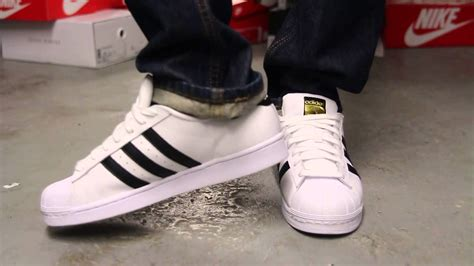adidas superstar quot white black quot on at exclucity