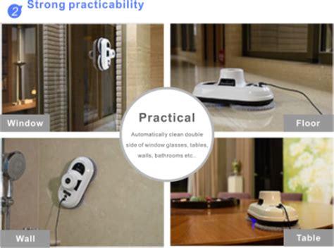 Kait Jemuran Pintar 1 shenzhen cina kualitas baik anti jatuh pintar jendela pembersih jendela robot cleaner buy