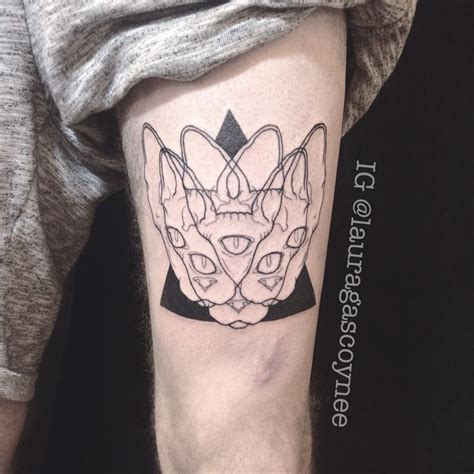 sphynx tattoo 35 gorgeous sphynx cat designs amazing ideas