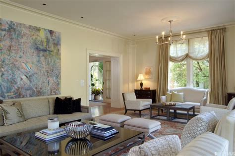 Living Room Putting Green Presidio Terrace Colonial Revival With Putting
