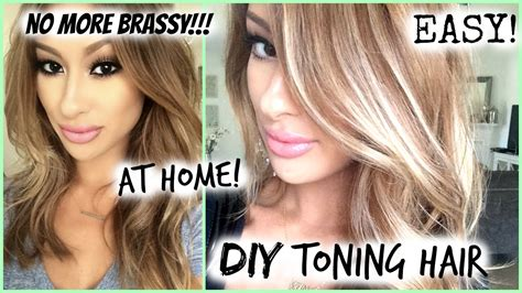 how to diy toned hair roots easy my hair color