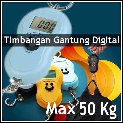 Timbangan Bagasi Digital Electronic Travel Luggage Scale 50kg Wh A20 jual timbangan gantung digital portable 50 kg dkijaya