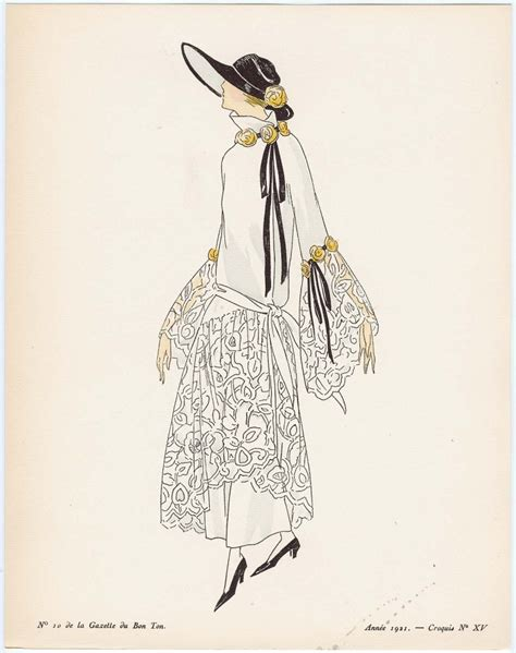 la robe vol 233 e what to wear to a garden party in 1922 the dreamstress
