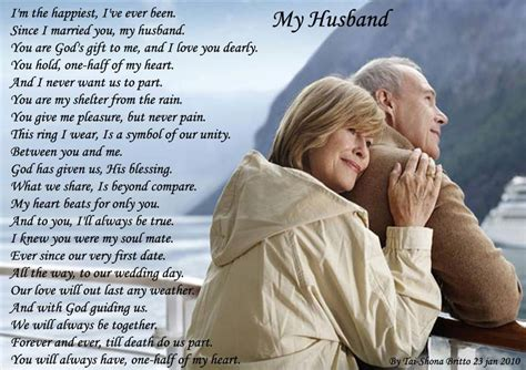 a poem for my husband my husband poems about
