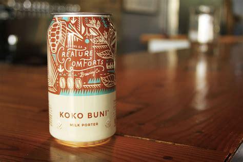 creature comforts beer creature comforts announces return of seasonal koko buni