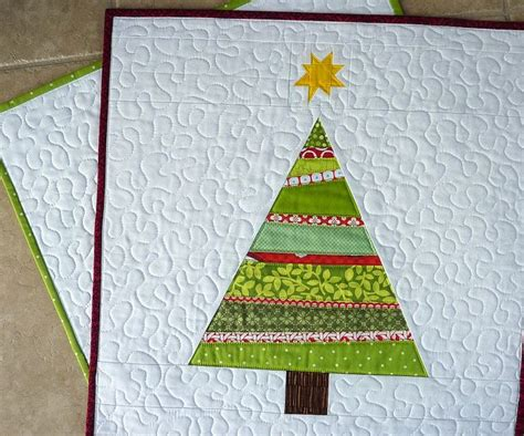 christmas tree quilt appliques embroidery cross stitch