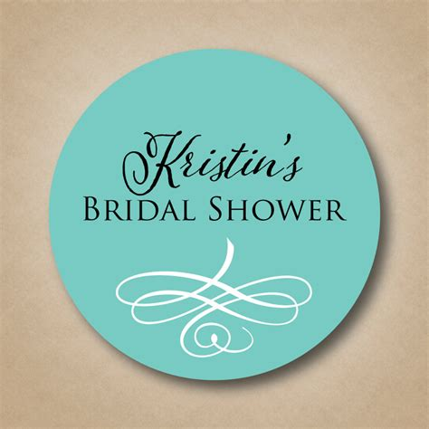 personalized stickers personalized bridal shower favor stickers custom wedding