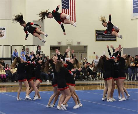 ihsa cheer sectionals suburban cheer teams step it up at sectionals