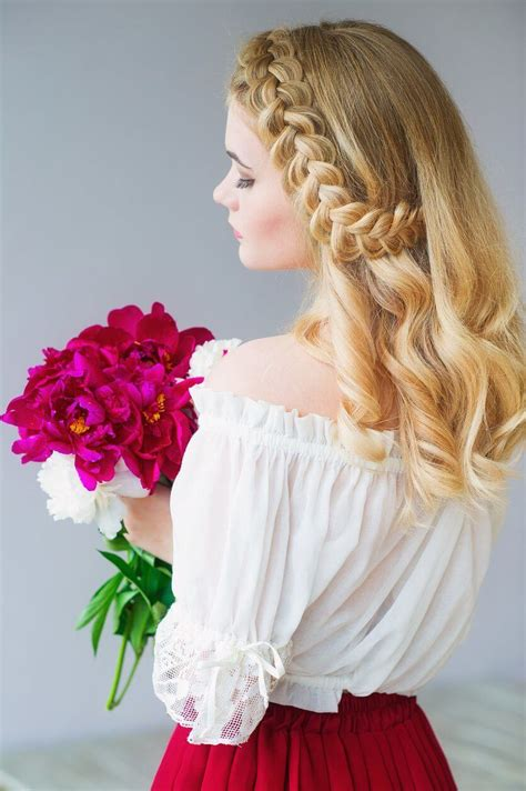 Side Braid Hairstyles by Side Braid Tutorial And Side Braided Hair Inspiration