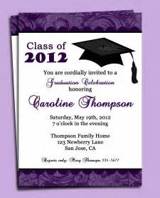graduation or announcement invitation printable or