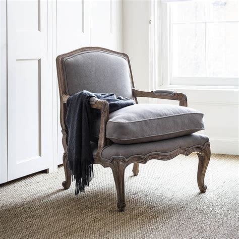 Rochelle Armchair by Rochelle Dove Grey Armchair By Within Home Notonthehighstreet