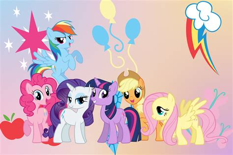 the of my pony the my pony wallpapers my pony friendship is