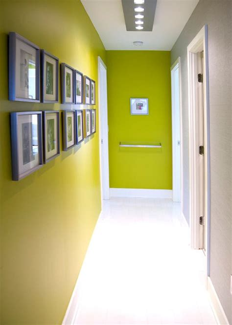 hallway paint colors squeezing style into a narrow hallway