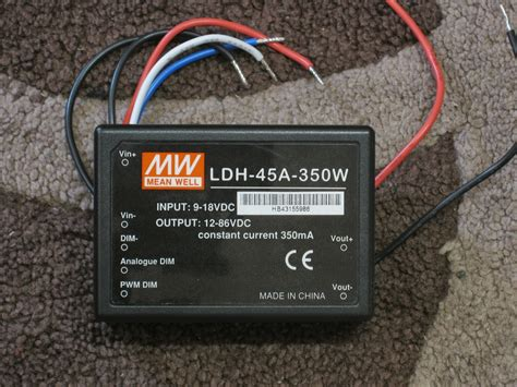 Power Supply Well Led Driver Ldh 45 350 1050da grant trebbin meanwell ldh 45a 350w dimmable led driver