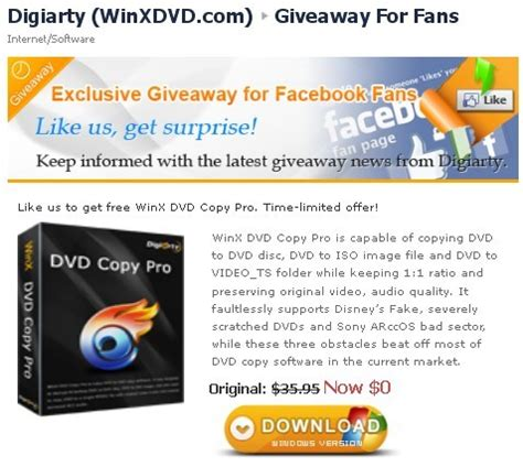 Winx Dvd Giveaway - winx dvd copy pro activation code for free facebook giveaway most i want