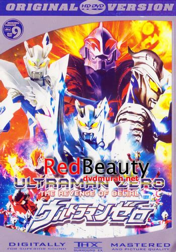 lihat film ultraman jual ultraman zero the revenge of belial