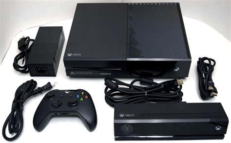 ebay xbox one console microsoft xbox one kinect sensor 500gb black 1540