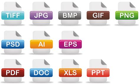 format file types image file types