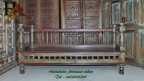 banc indien banc vieux banc indien jn7 la628 meubles indiens bancs inde
