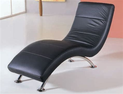 love chaise black or white leather armless love chaise new york new