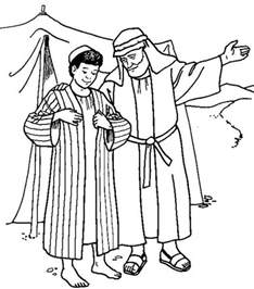 Joseph coat of many colors coloring page black models picture