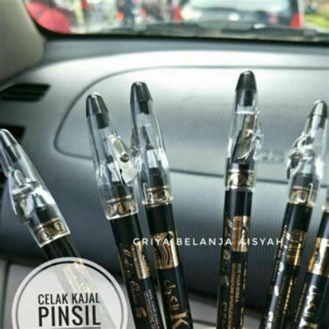 Eyeliner Warna Import celak kajal pensil rautan khusus warna hitam shopee
