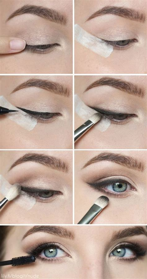 the paper mulberry cosmetics winged eyeliner natural look with smudged eyeliner beautiful girls
