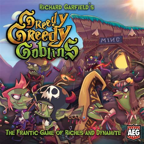 Who Let The Goblins Out Galacula And Rayd8 by Review Greedy Greedy Goblins Delves For Chaotic