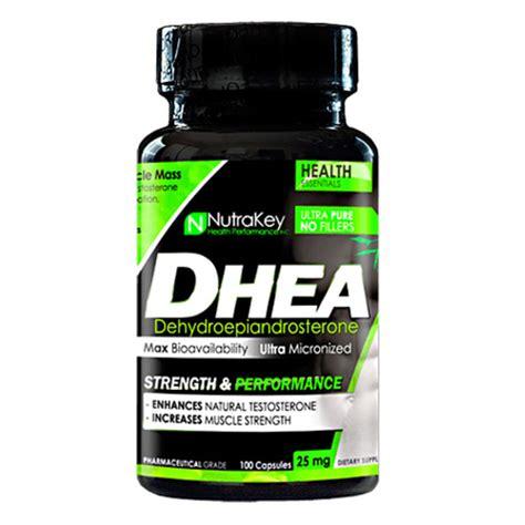 supplement dhea nutrakey dhea 25 mg 100 capsules evitamins