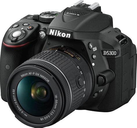 Nikon D5300 Af P Dx 18 55mm Vr Garansi Resmi nikon d5300 schwarz mit objektiv af p dx 18 55mm vr und af