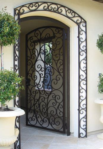 Wrought Iron Patio Doors Ornamental Iron Gallery Orange County Ca