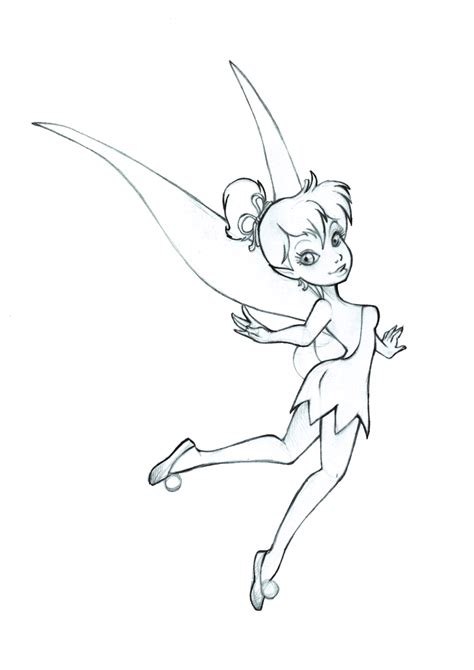 how to draw a fairy silhouette step by step drawing tinkerbell commission sketch by 77shaya77 on deviantart