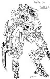 Pacific Rim Tacit Ronin By Dragonbex On DeviantArt sketch template