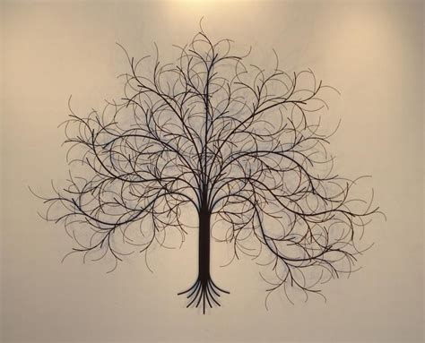 Wire Tree Wall Hanging Home Decor by Metal Wall Art Metal Wall Sculpture Gurtan
