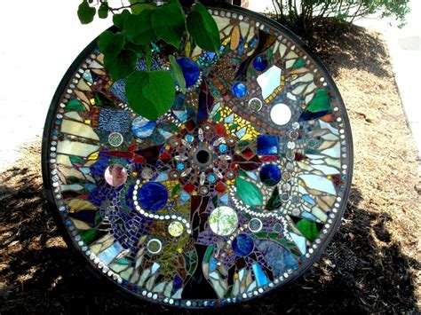 how to make a glass mosaic table top how to create a unique table top mosaic of plate and