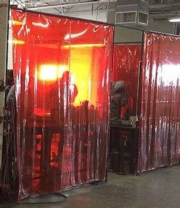 industrial welding curtains akon curtain  dividers