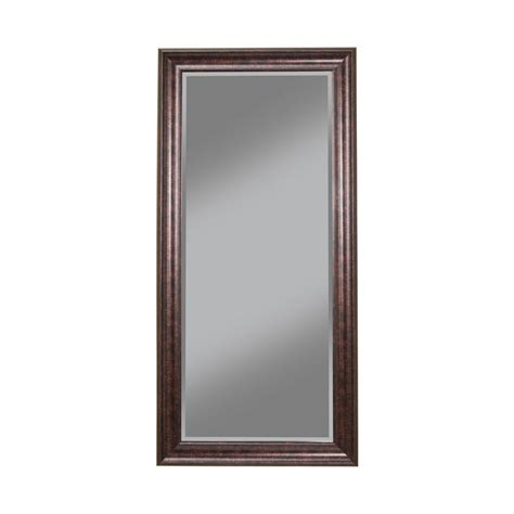 oil rubbed bronze full length leaner floor mirror 14211