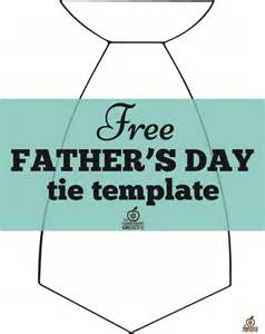 Fathers Day Template free s day craft tie template