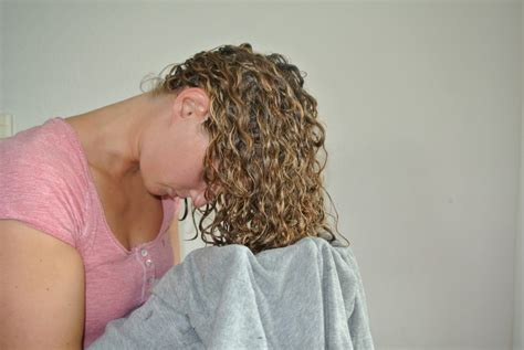 Drying Curly Hair With Cold Air a great tip to get frizz free curls justcurly
