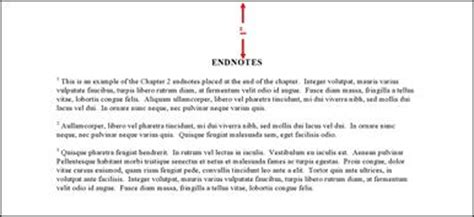 format footnote spacing formatting guidelines thesis and dissertation guide