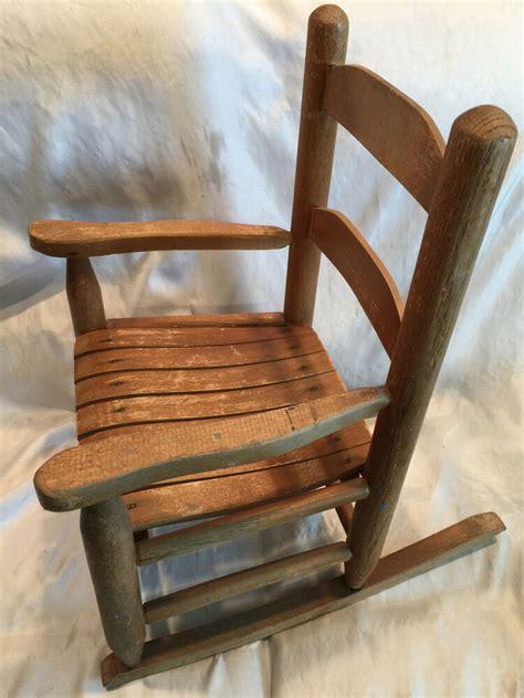 toddlers rocking chair vintage kid s toddler wooden rocking chair wood