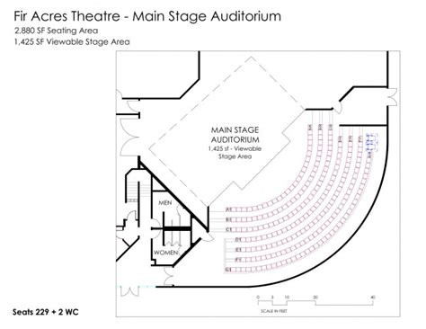 Lecture Hall Floor Plan venue details conferences and events lewis amp clark