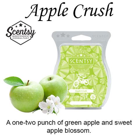 apple scents apple crush scentsy bar the candle boutique scentsy uk