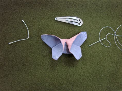 Origami Butterfly Pattern - tutorial baby sewing patterns and more