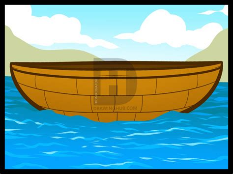 easy way to draw a boat how to draw a boat for kids step by step drawing guide