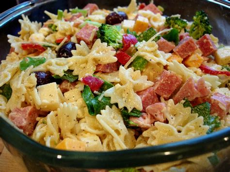 recipes for pasta salad italian pasta salad recipe dishmaps