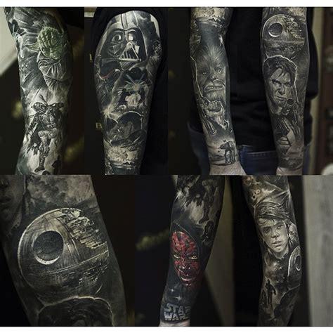 star wars tattoo sleeve wars sleeve best ideas gallery